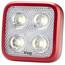 Knog Blinder MOB Four Eyes Fietsverlichting witte LED rood
